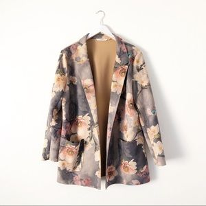 Soft Surroundings Divine Jacket Faux Suede